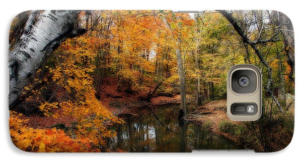 Galaxy Case featuring the photograph In Dreams Of Autumn by Kay Novy