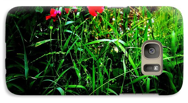 Galaxy Case featuring the photograph In Flanders Fields by Mariana Costa Weldon