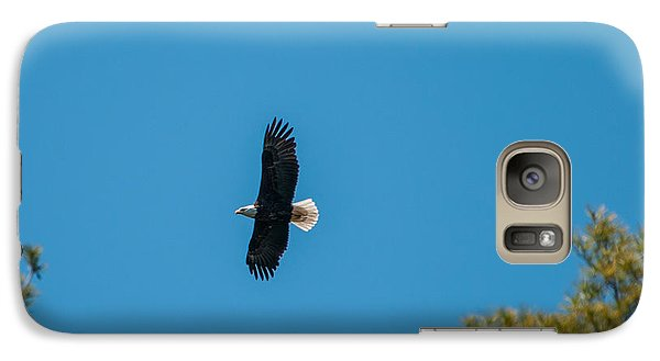 Galaxy Case featuring the photograph In Flight by Brenda Jacobs