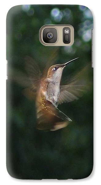 Galaxy Case featuring the photograph In Flight by Photographic Arts And Design Studio