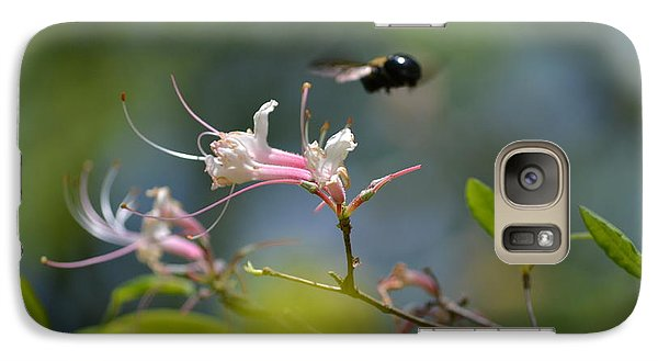 Galaxy Case featuring the photograph In Flight by Tara Potts