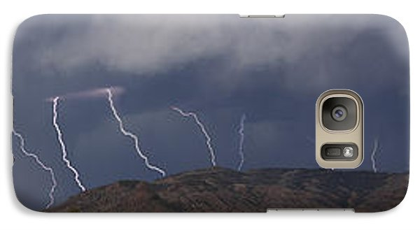 Galaxy Case featuring the photograph In From The West  15x81 by J L Woody Wooden