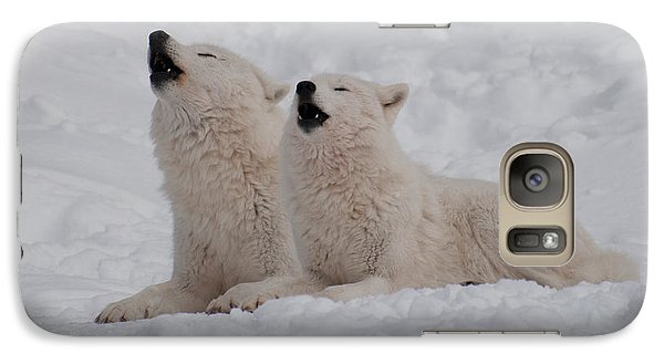 Galaxy Case featuring the photograph In Harmony by Bianca Nadeau