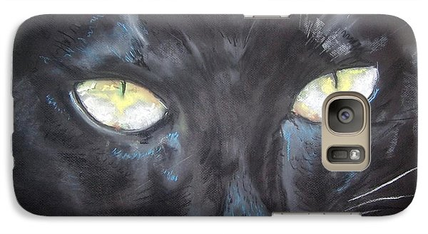 Galaxy Case featuring the pastel In Hiding by Peter Suhocke