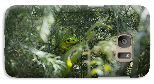 Galaxy Case featuring the photograph In Hiding by Serene Maisey