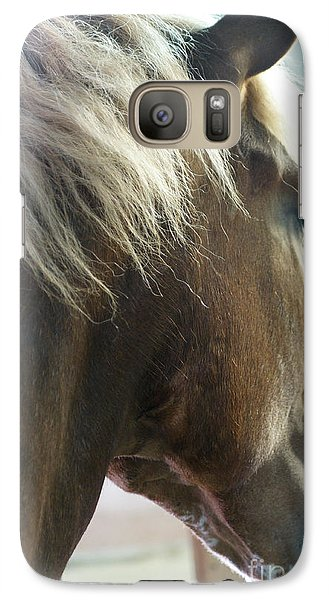 Galaxy Case featuring the photograph In His Farthest Wanderings Still He Sees by Linda Shafer