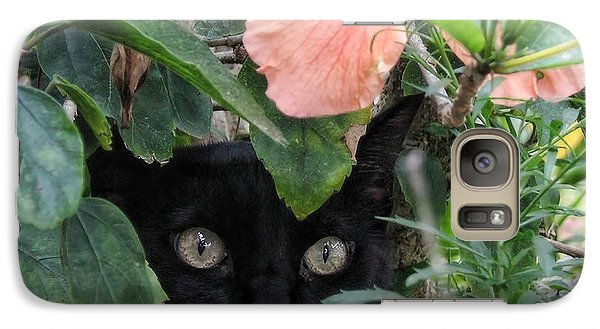 In His Jungle Galaxy S7 Case by Peggy Hughes