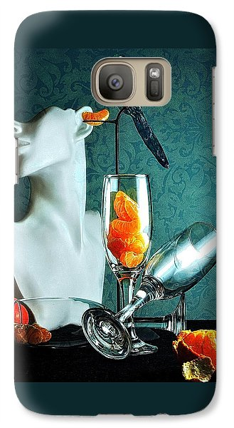 Galaxy Case featuring the photograph In Honor Of Karo by Elf Evans