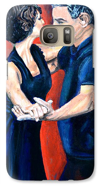 Galaxy Case featuring the painting In Love  by Jock McGregor