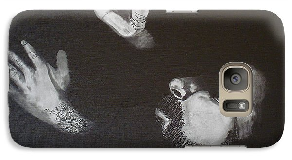 Galaxy Case featuring the painting In Memory Of My Father by Stuart Engel