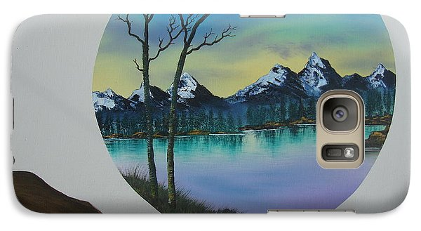 Galaxy Case featuring the painting In Memory Of Ocean by Stuart Engel