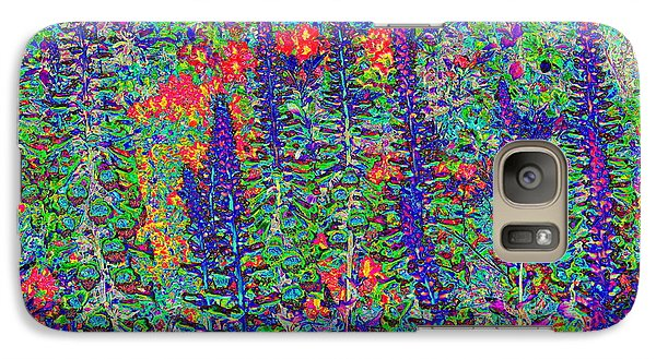 Galaxy Case featuring the photograph In My Garden by Diane Miller