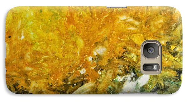 Galaxy Case featuring the painting In My Magic Garden by Joan Reese