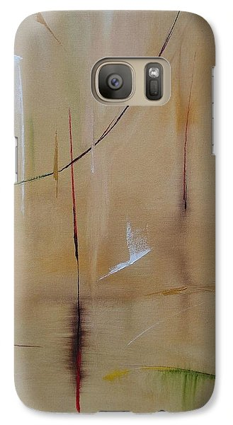 Galaxy Case featuring the painting In Pursuit Of Youth by Judith Rhue