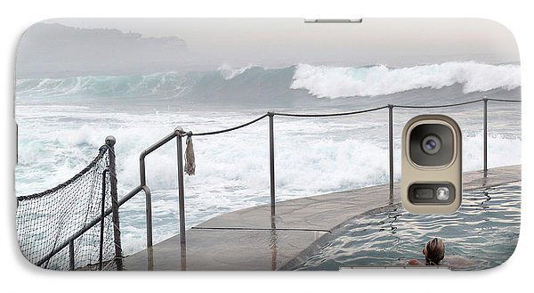 Galaxy Case featuring the photograph In Safe Waters by Evelyn Tambour