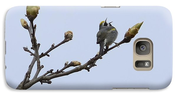 Galaxy Case featuring the photograph In Song by Randy Bodkins