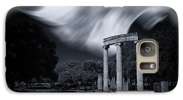 Galaxy Case featuring the photograph In The Altis Of Olympia by Micah Goff