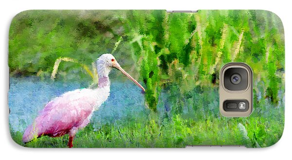 Galaxy Case featuring the photograph In The Bayou #1 by Betty LaRue