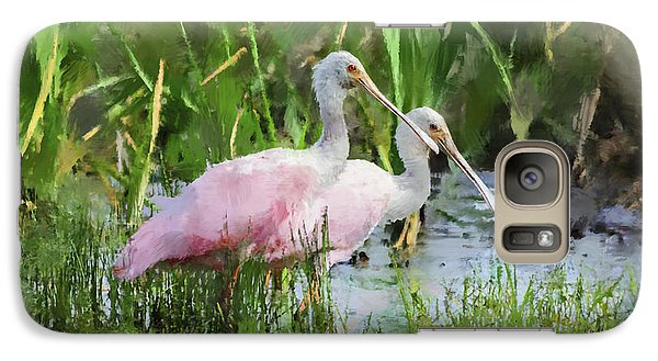 Galaxy Case featuring the photograph In The Bayou #3 by Betty LaRue
