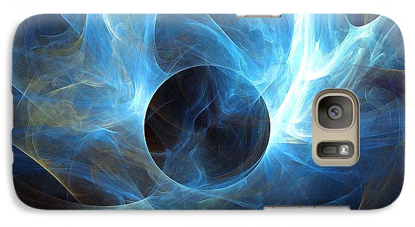 Galaxy Case featuring the digital art In The Beginning by R Thomas Brass