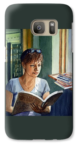 In The Book Store Galaxy S7 Case