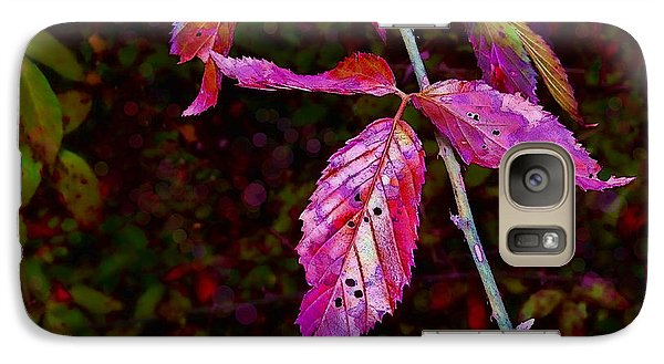 Galaxy Case featuring the photograph In The Briar Patch by Judi Bagwell