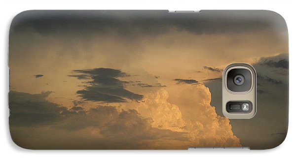 Galaxy Case featuring the photograph In The Cloud 2  by Lyle Crump