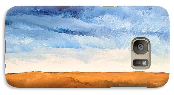 Galaxy Case featuring the painting In The Distance by Linda Bailey