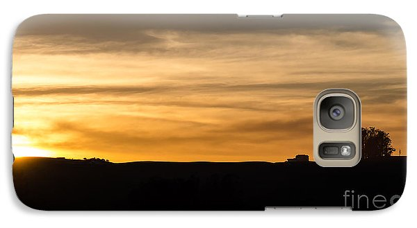 Galaxy Case featuring the photograph In The Evening I Rest by CML Brown