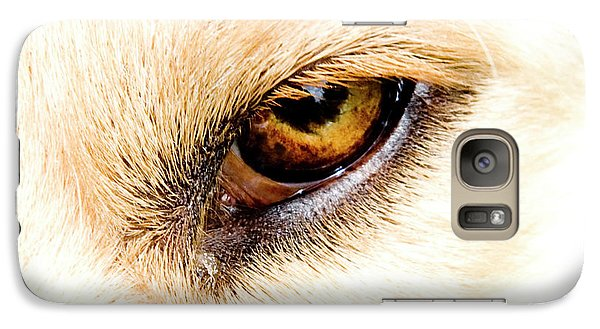 Galaxy Case featuring the photograph In The Eyes.... by Rod Wiens