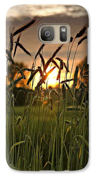 Galaxy Case featuring the photograph In The Field by Michaela Preston