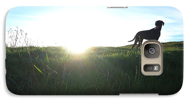 Galaxy Case featuring the photograph In The Field by Paul Foutz