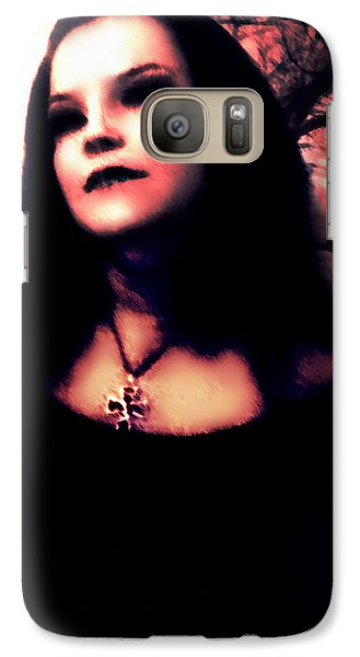 Galaxy Case featuring the digital art In The Forest by Persephone Artworks