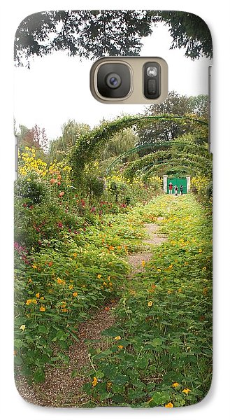 Galaxy Case featuring the photograph In The Garden  by Kristine Bogdanovich