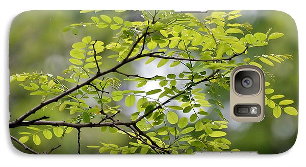 Galaxy Case featuring the photograph In The Green by Kerri Farley