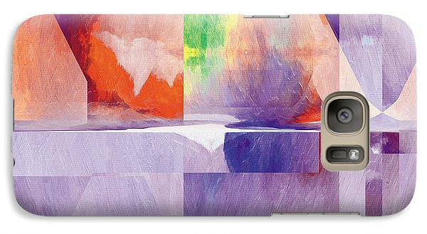 Galaxy Case featuring the painting In The Land Of Forgetting 24 by The Art of Marsha Charlebois