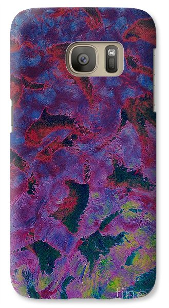 Galaxy Case featuring the painting In The Mind's Eye by Jacqueline McReynolds