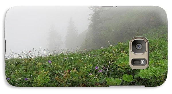 Galaxy Case featuring the photograph In The Mist - 1 by Pema Hou