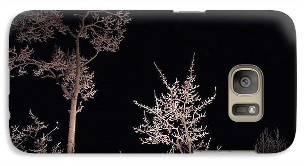 Galaxy Case featuring the photograph In The Night Garden by Brian Boyle