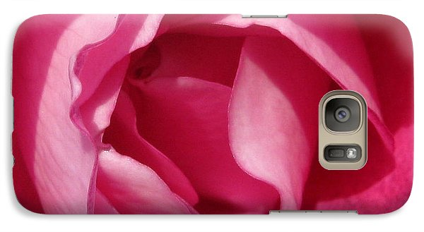 Galaxy Case featuring the photograph In The Pink by Janice Westerberg