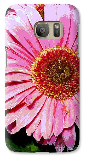 Galaxy Case featuring the photograph In The Pink by Sally Simon