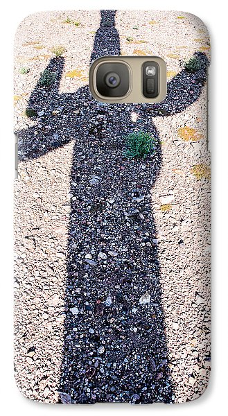 In The Shadow Of A Saguaro Cactus Galaxy S7 Case by  Onyonet  Photo Studios