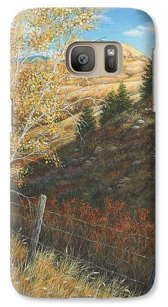 Galaxy Case featuring the painting In The Shadow Of Belt Butte by Kim Lockman