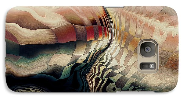 Galaxy Case featuring the digital art In The Shadow Of My Doubt by Kim Redd