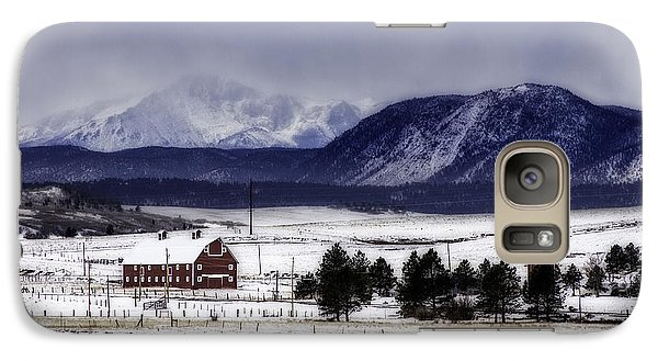 Galaxy Case featuring the photograph In The Shadow Of Pike's Peak by Kristal Kraft
