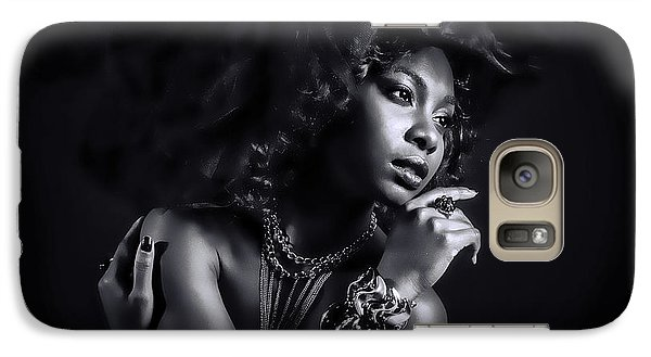 Galaxy Case featuring the photograph In The Shadows by Brian Tarr