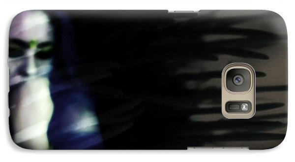 Galaxy Case featuring the photograph In The Shadows Of Doubt  by Jessica Shelton