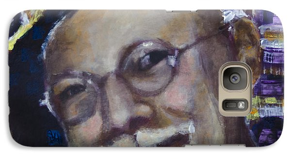 Galaxy Case featuring the painting In The Studio by Ron Richard Baviello