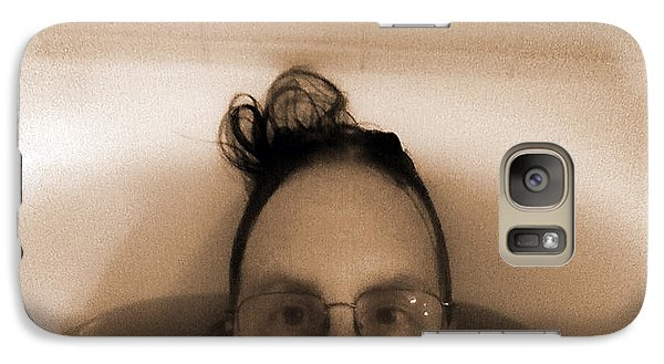 Galaxy Case featuring the photograph In The Tub by Steve Sperry