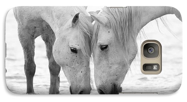 Horse Galaxy S7 Case - In The Water At Dawn II by Carol Walker